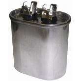 Capacitor 25 MFD 370V Oval Run (5)