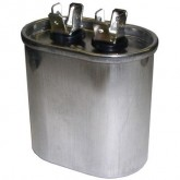 Capacitor 5 MFD 370V Oval Run (5)